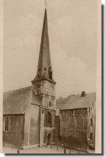 Eglise Saint Mengold à Huy