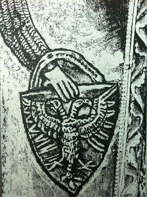Détail du bouclier de st Mengold