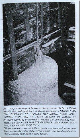 La cloche de saint Mengold