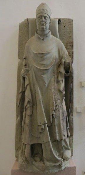 Tombeau de Manegold, mort en 1302
