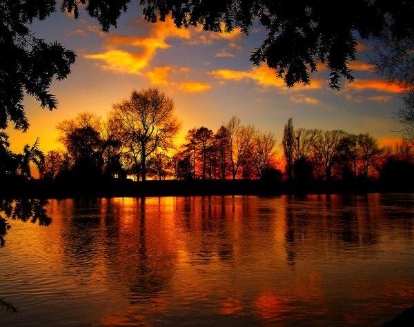Au déclin du jour, la couleur de l'amour...