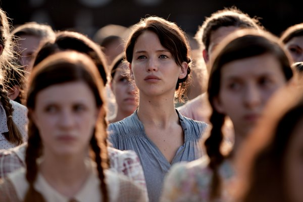 Jennifer Lawrence parle de Katniss