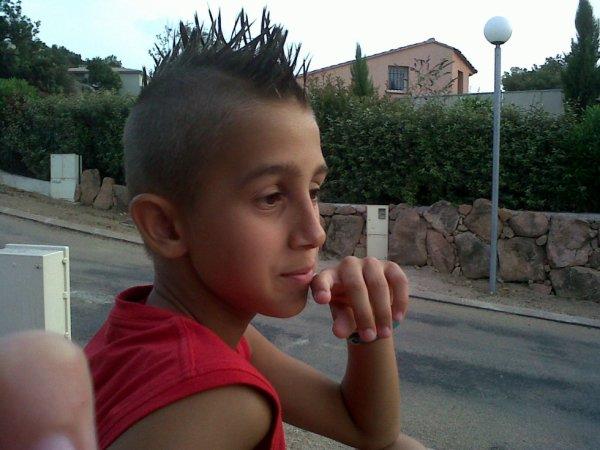 La coiffure de mon petit frère !! ♥