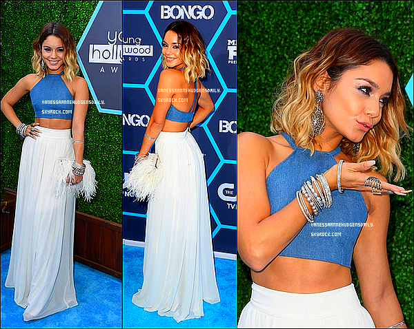 27/07/14. Vanessa était au Young Hollywood Awards au The Wiltern Theater à Los Angeles. Top ou Flop ?