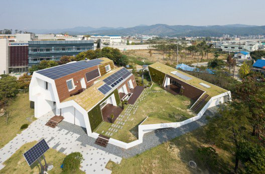 E+Green Home  - d'Unsangdong architects