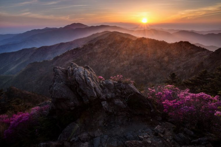Corée du Sud - Son territoire