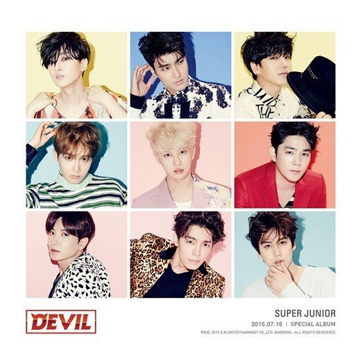 Devil / Devil - Super Junior (2015)