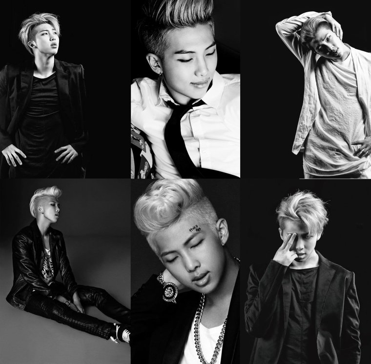 RAP MONSTER - 김남준 - BTS