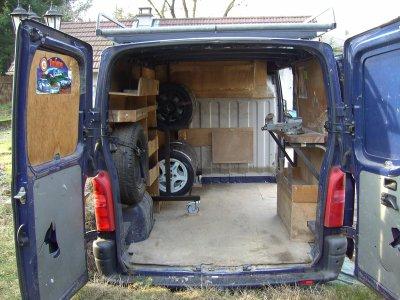 amenagement nouveau camion nico. Black Bedroom Furniture Sets. Home Design Ideas