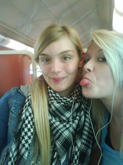 Mes 2 Blonde A Moi. :-)