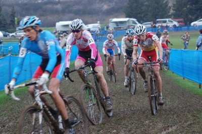 11/12/2011 - CHALLENGE LA FRANCE CYCLISTE DE CYCLO-CROSS 2011 - BESANCON (25) - TROISIEME MANCHE