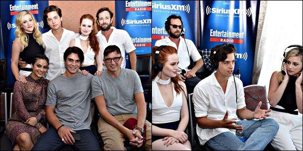 * 23/07/2016 : Cole et le cast de Riverdale ont fait une interview pour la radio SiriusXM à San Diego. *
