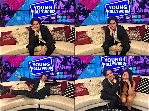 * 01/03/2017 : Cole s'est rendu sur le plateau Young Hollywood pour promouvoir la série Riverdale. *
