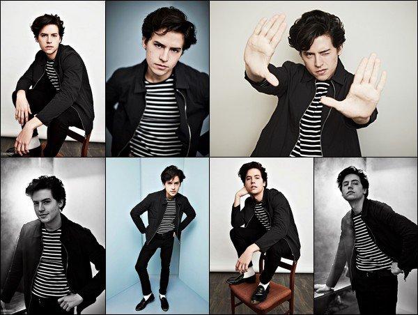 * ●● Découvrez les portraits de Cole Sprouse pour la Winter TCA 2017 *