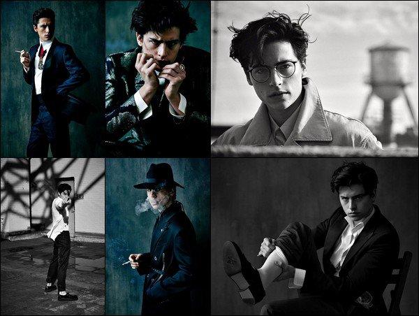 * ●● Découvrez ce photoshoot de Cole réalisé cette année pour Uomo Vogue *