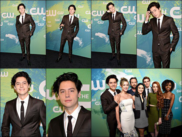 * 19/05/2016 : Cole et le cast de Riverdale ont assisté à la CW Network's Upfront - Party. *