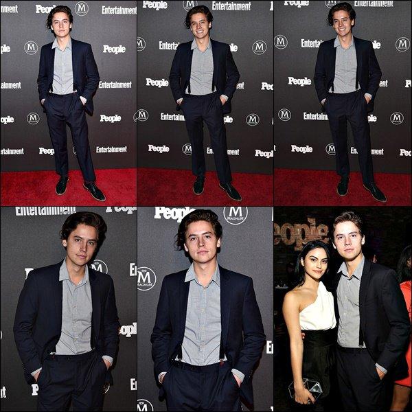 * 16/05/2016 : Cole était présent à L'Entertainment Weekly et People Upfronts Parti avec Riverdale. *