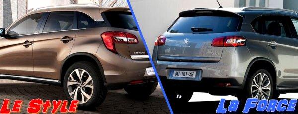 Peugeot 4008 & Citroën Aircross