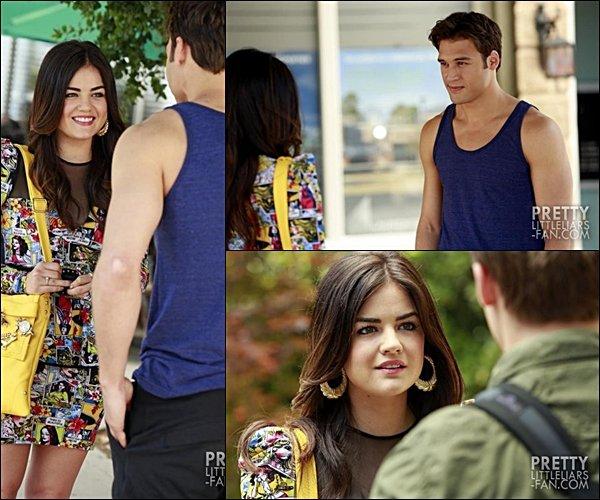 . Voici quelques stills, de l'épisode 8 de la saison 4 de Pretty Little Liars, seulement ceux dans lesquels apparaîssent Lu'. .