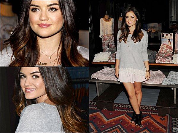 . Lucy posant pour le magasine COSMOPOLITAN du mois de Septembre 2014.  Comment trouves-tu le shoot ?  .