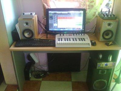"""S@ c'est mon home studio  """"Streetrecordz"""""""