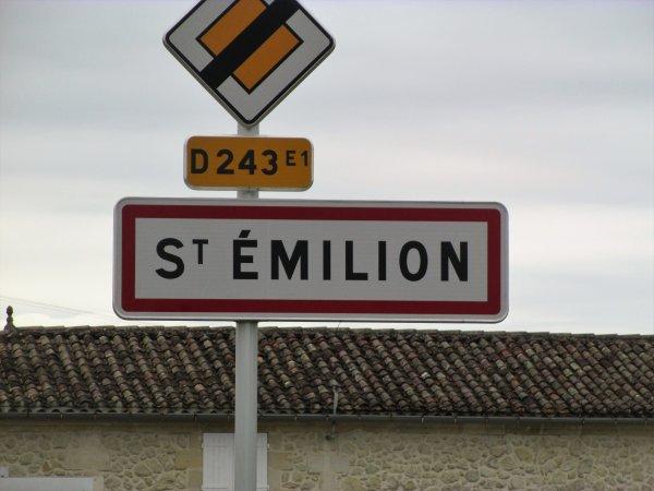 pour les 5ème et 6ème nuits nous voici à St Emilion