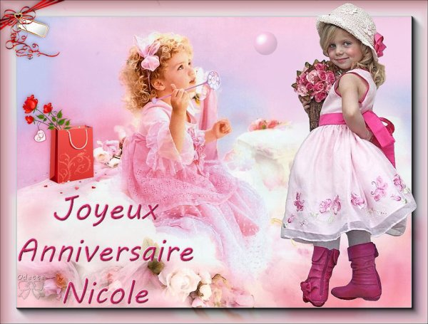 Joyeux Anniversaire Nicole