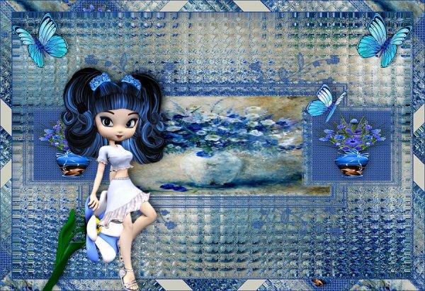 Mon tuto de finissante PSP sur le groupe A vos pinceaux et vos magnifiques versions