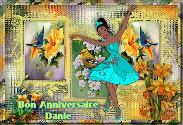 Bon anniversaire Danie