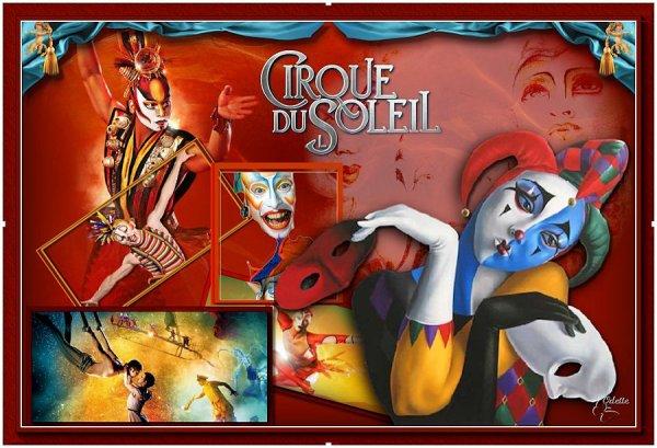 ma version du magnifique tuto de Franiemargot : Cirque du soleil