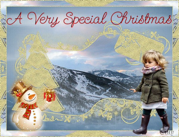 vos magnifiques versions de mon nouveau tuto : Noël