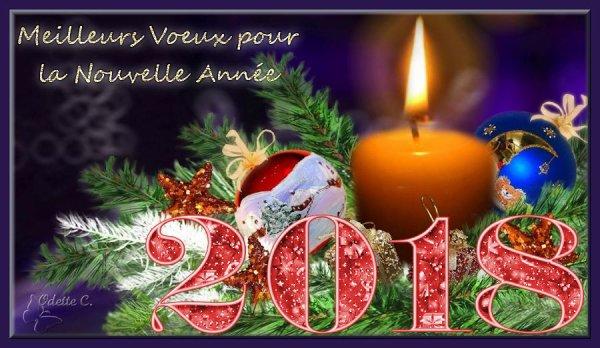 Tous mes meilleurs voeux pour cette nouvelle année