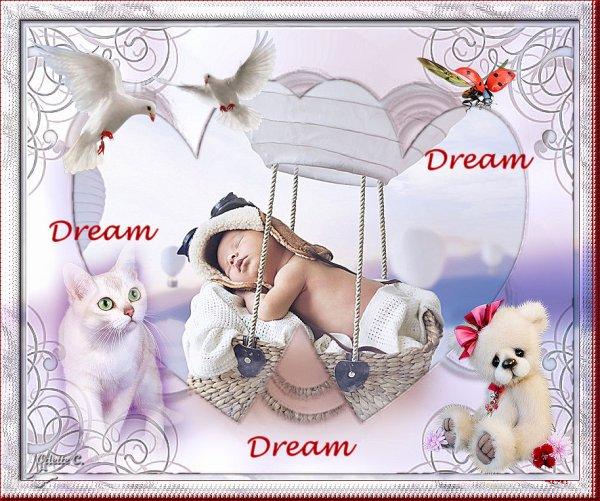 une nouvelle créatrice de tutoriels PSP est née : Bienvenue à Bastet avec un magnifique 1er tutotiel : Dream