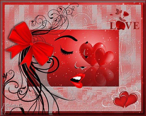 Bonne St Valentin - quelques créations personnelles