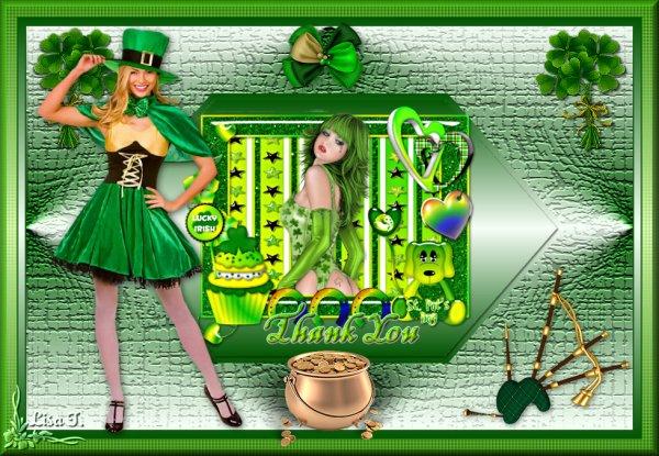 Mon nouveau tutoriel pour la St Patrick