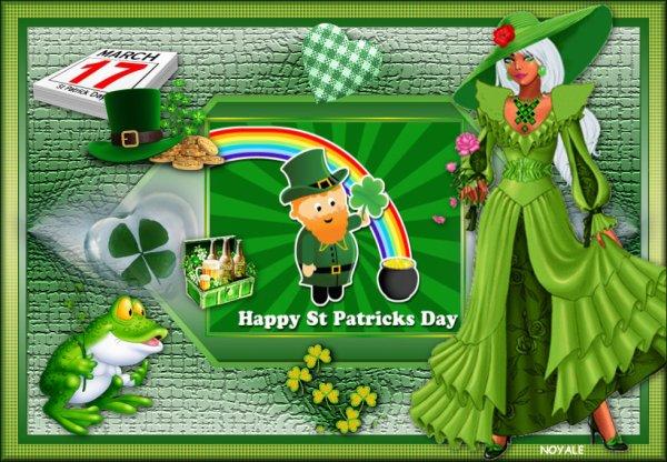 Vos magnifiques versions de mon nouveau tuto de la St Patrick