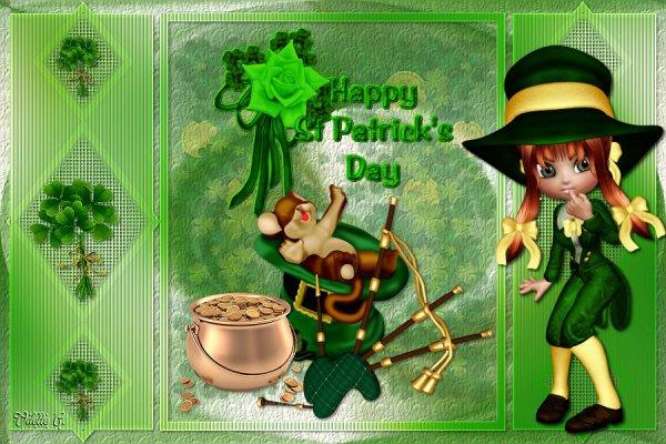 Que la chance soit avec vous ! Bonne St Patrick