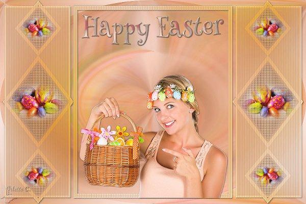 mon nouveau tuto de Pâques
