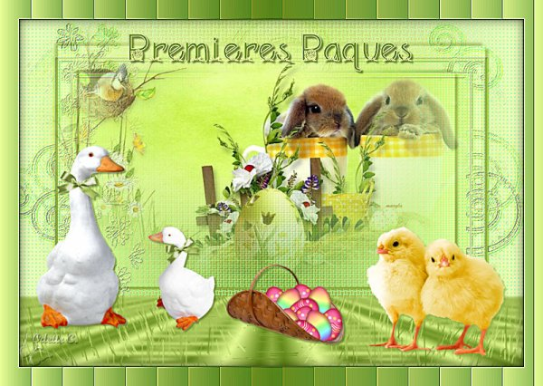 module de Pâques sur l'école : A vos pinceaux