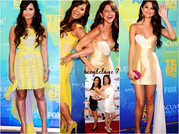 Selena Gomez et Demi Lovato au TCA 2011