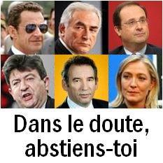 .Sur l'abstention