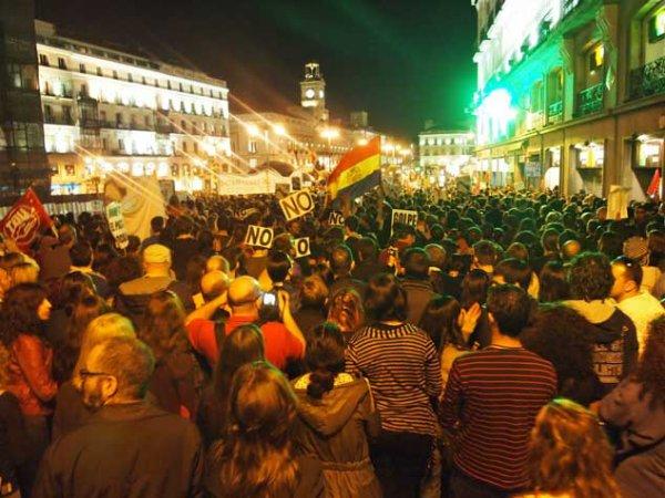 Espagne : Huelga general, grève générale §