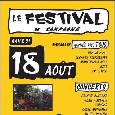 """PRINCE RINGARD AU FESTIVAL DE ST AQUILIN """"LE FIL VERT"""" LE 18 AOÛT"""