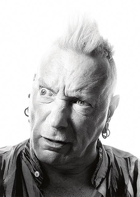"""Johnny Rotten : """"En tant que roi du punk, je décrète cette loi : le punk n'a pas besoin de roi"""""""