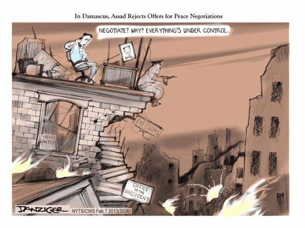 Quoi encore, la Syrie ?