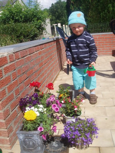 L'apprenti jardinier d'Adeline