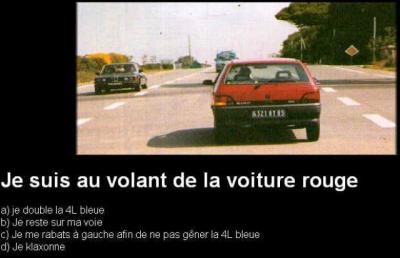 Roulez bolide !