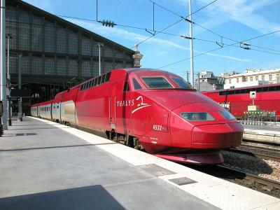Une photo du thalys