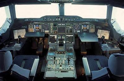 Cockpit de l'A380
