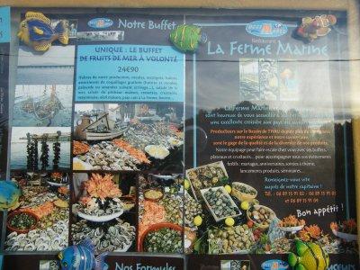 La ferme marine à Marseillan